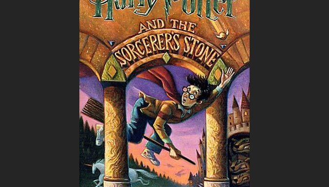 "J. K. Rowling ""Harry Poter and the Sorcerer's Stoune"""