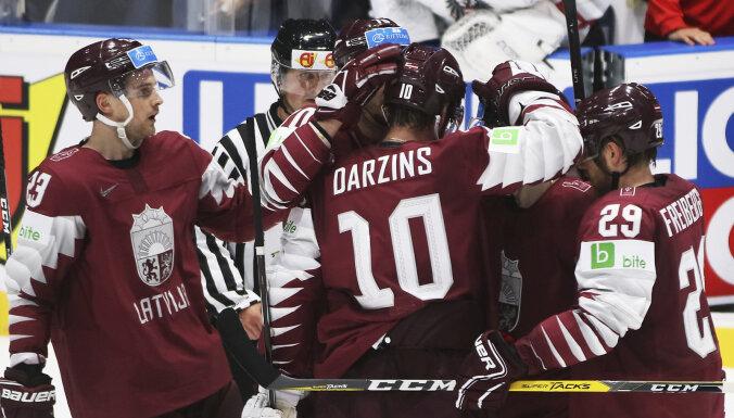 Сборная Латвии забросила 5 шайб австрийцам в первом матче на чемпионате мира