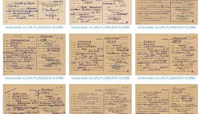 10 612 карточек: после 20-летних споров Латвия открыла архивы КГБ