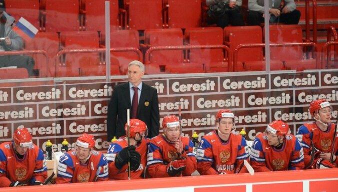 В заявку сборной России внесены 19 хоккеистов