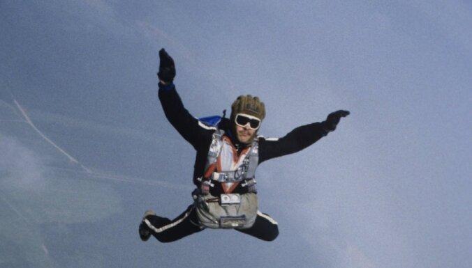 Австриец совершил прыжок с парашютом из стратосферы