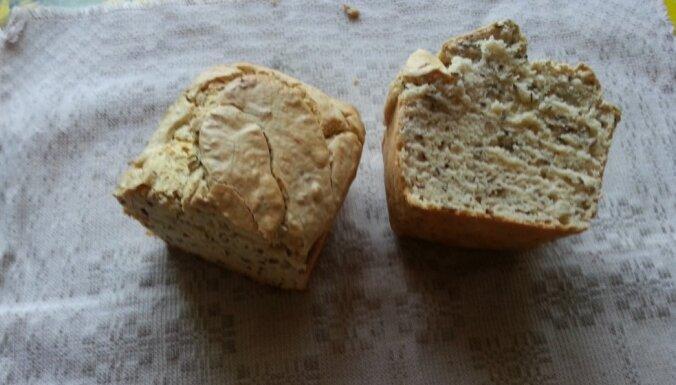 Vienkāršā griķu miltu maize