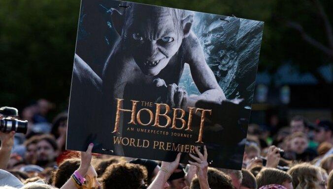 Fotoreportāža: Jaunzēlandē notikusi filmas 'Hobits' pirmizrāde