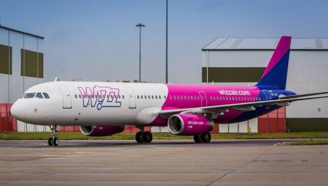 'Covid-19': 'Wizz Air' atceļ lidojumus uz Itāliju un Izraēlu
