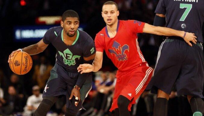 NBA Zvaigžņu spēlē uzvar Austrumu komanda; vērtīgākais spēlētājs – Īrvings