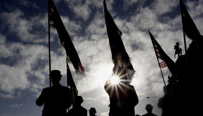 Par godu Kembridžas hercogienes dzimšanas dienai Belfāstā atkal paceļ Lielbritānijas karogu