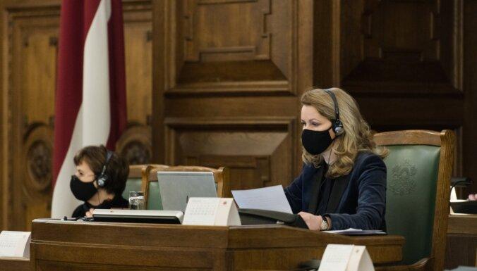 Saeima paziņojumā pieprasa atbrīvot Navaļniju; 'Saskaņa' balsojumā nepiedalās