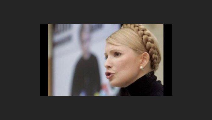Timošenko ir pret Medvedeva iejaukšanos Ukrainas iekšlietās