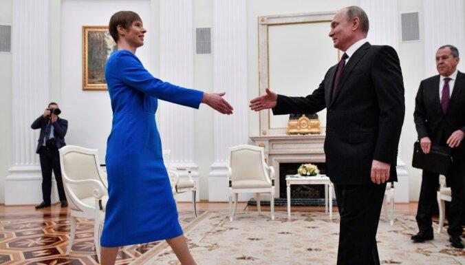 Керсти Кальюлайд пригласила Владимира Путина в Эстонию