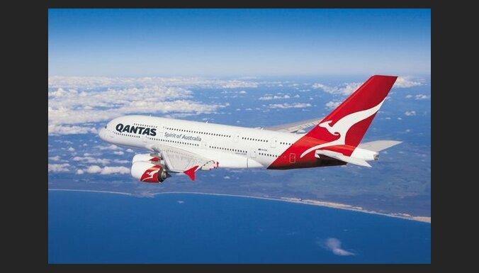 Paziņotas drošākās aviokompānijas pasaulē; ceturto gadu līdere austrāliešu 'Qantas'