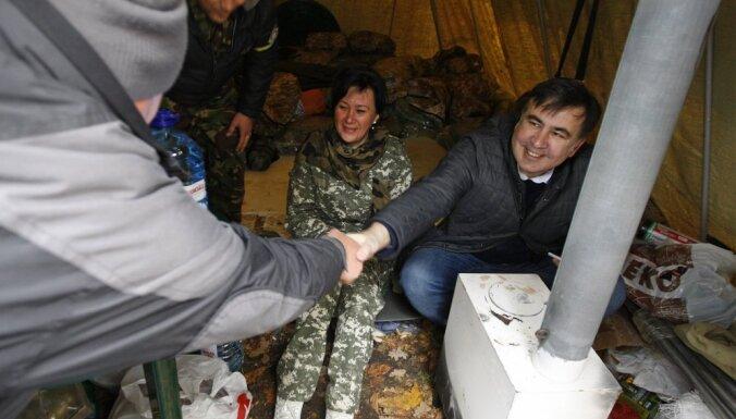 Генпрокуратура Украины объявила Саакашвили в розыск, тот скрывается в палатке