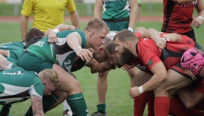 Regbija klubs 'Miesnieki' piedzīvo zaudējumu 'Top' līgas mačā