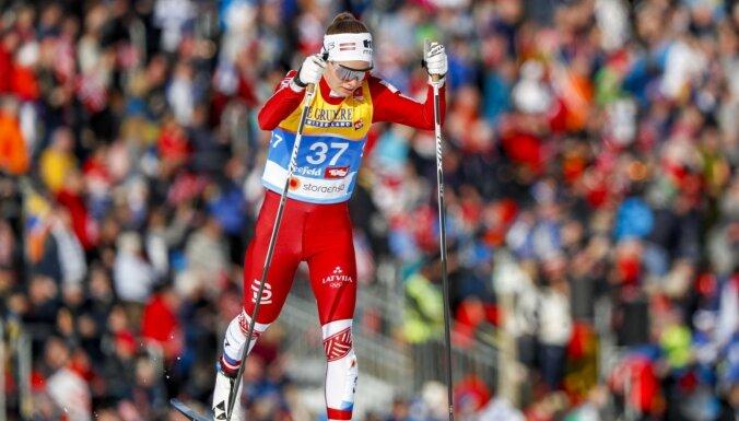 Eiduka 'Tour de Ski' sestajā posmā atkal iekļūst TOP 30