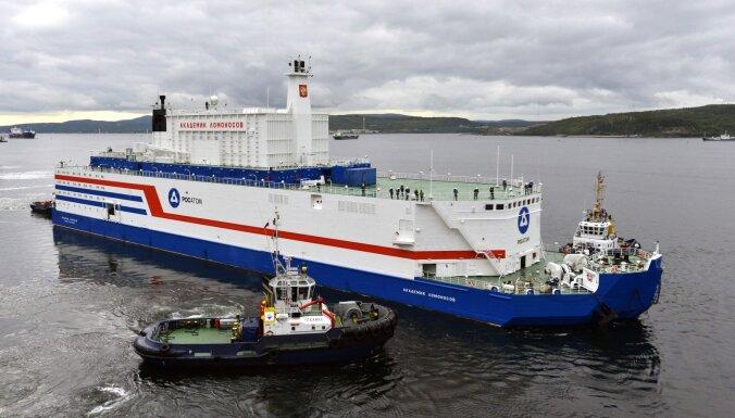 """""""Ядерный """"Титаник"""". Первая в мире плавучая АЭС отправляется на Чукотку"""