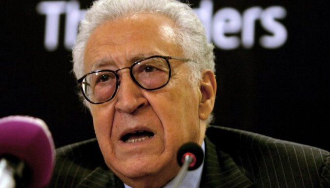 Brahimi: krīze Sīrijā kļūst sliktāka