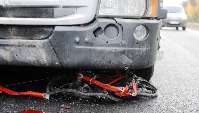 Госполиция: в воскресенье в авариях пострадали четыре велосипедиста