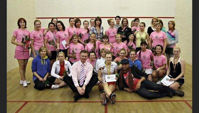 Lady Squash Open-2012 завершился победой Латвии и Украины