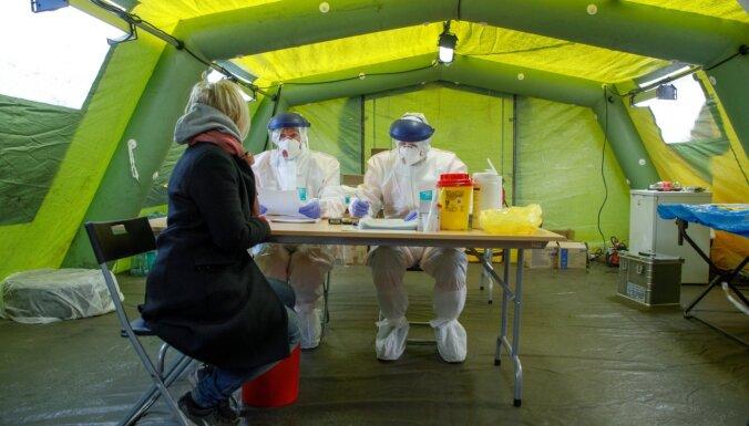 No ceturtdienas Liepājā darbosies mobilā telts 'Covid-19' testa veikšanai