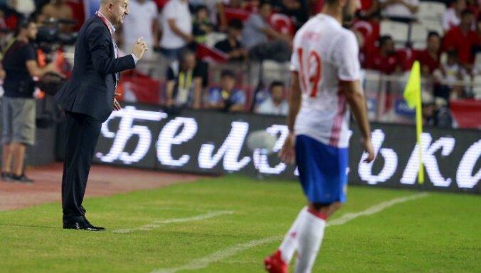 The Russian national team s head coach Stanislav Cherchesov