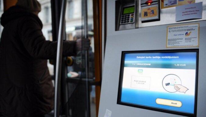 Rīgas satiksme устранило ошибку в билетных автоматах