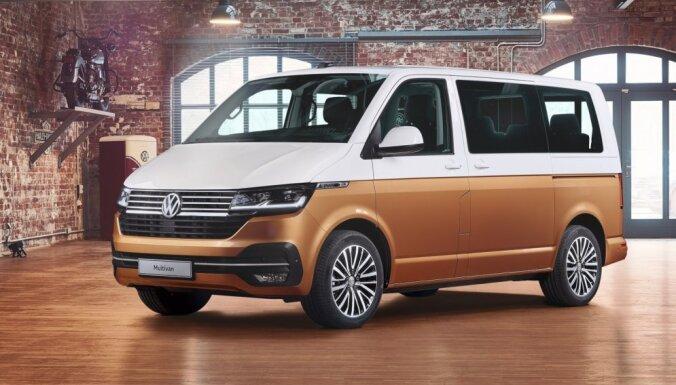 Atjauninātais 'VW Multivan T6.1' ieguvis arī elektrisko versiju