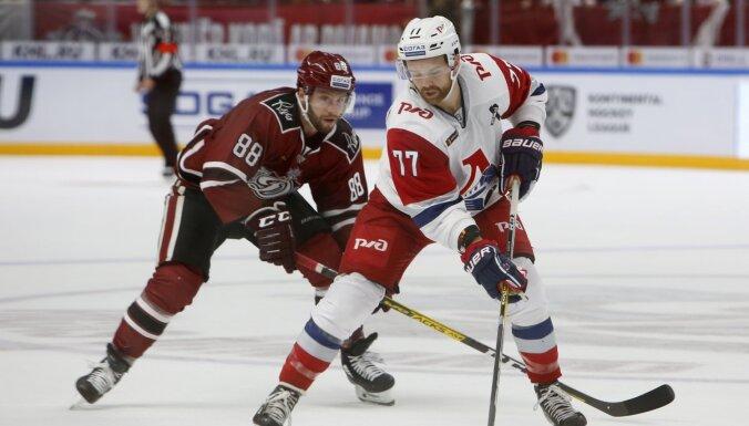 Rīgas 'Dinamo' zaudējumā Jaroslavļā apliecina KHL pastarītes statusu