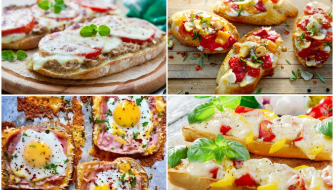 Ātrās uzkodas negaidītiem viesiem – 30 karstmaižu receptes mājas ballītēm