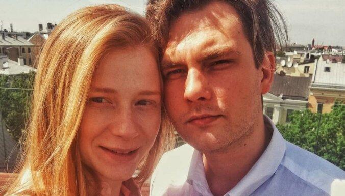 Laulības ostā iestūrējuši aktieri Agnese Cīrule un Matīss Budovskis