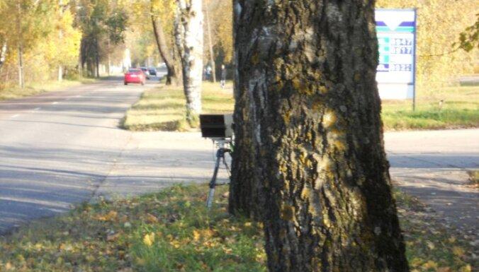 IeM: valsts fotoradarus krūmos neslēps
