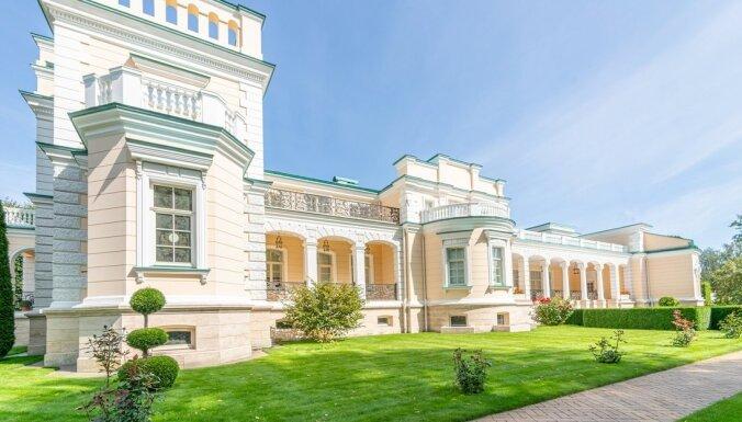 ФОТО: в Агенскалнсе продается вилла Минделя за 6,9 млн евро