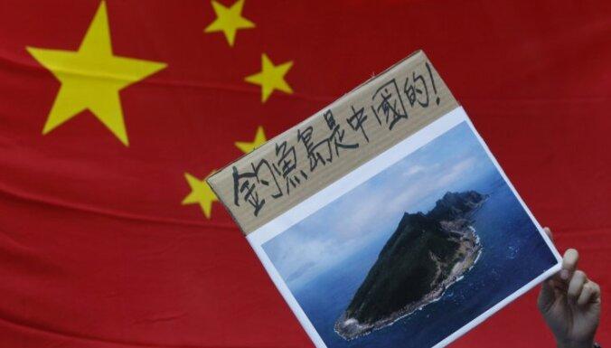 Ķīna pieprasa Japānai atteikties no Senkaku salu iegādes
