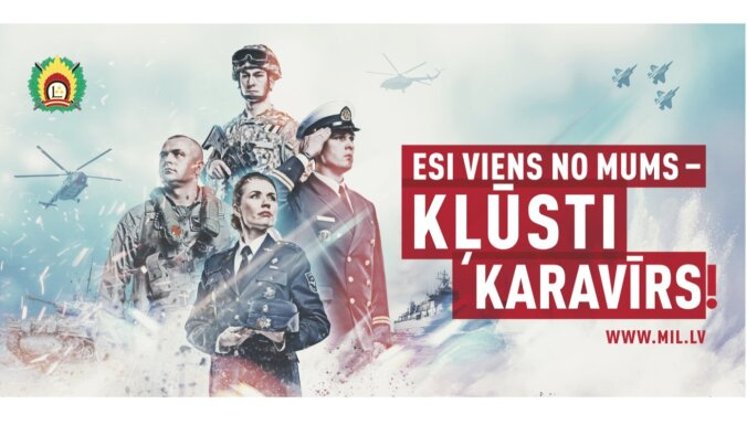 Latvijas armija: Kļūsti karavīrs! Atlīdzība – sākot no 900 eiro
