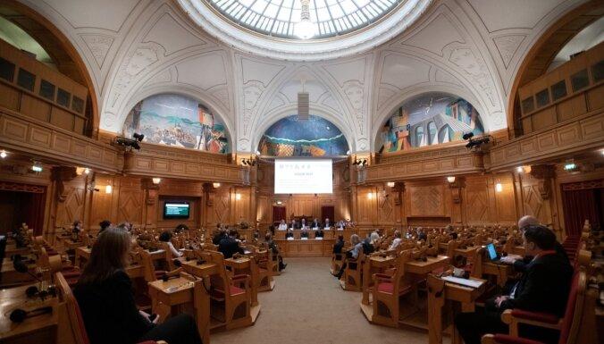 Foto: Drošība, klimats un sociālā vienlīdzība – Stokholmā sākas Ziemeļvalstu Padomes sesija