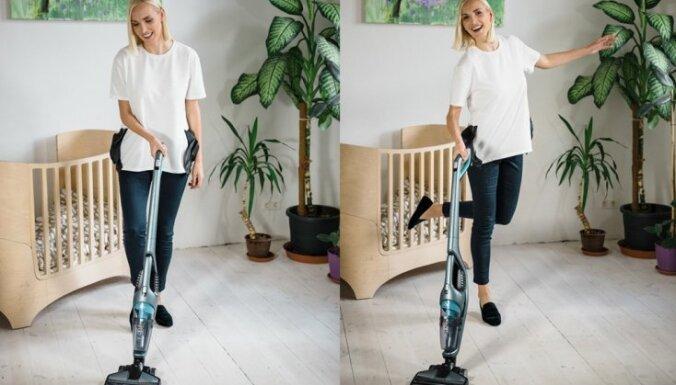 Kristīne Virsnīte: 'Pat mana meita ir sākusi piedalīties mājas uzkopšanā'
