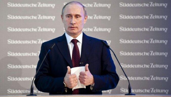 Putins: Baltkrievijas izvēle vēlēšanās jāciena