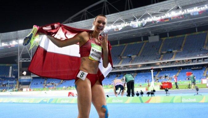 Ikauniece-Admidiņa un Misāns – 2017. gada Latvijas labākie vieglatlēti
