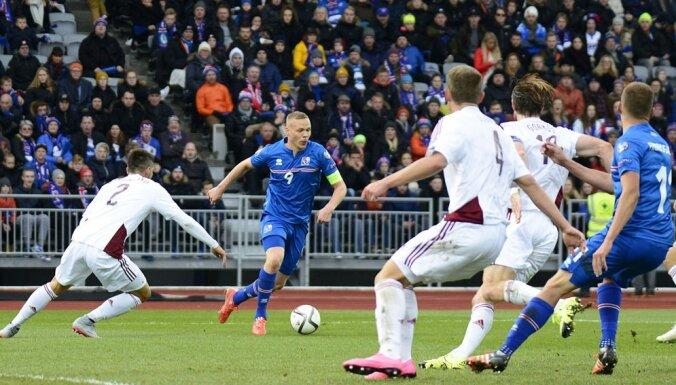 ВИДЕО: Сборная Латвии добилась ничьей против открытия отбора на ЕВРО-2016