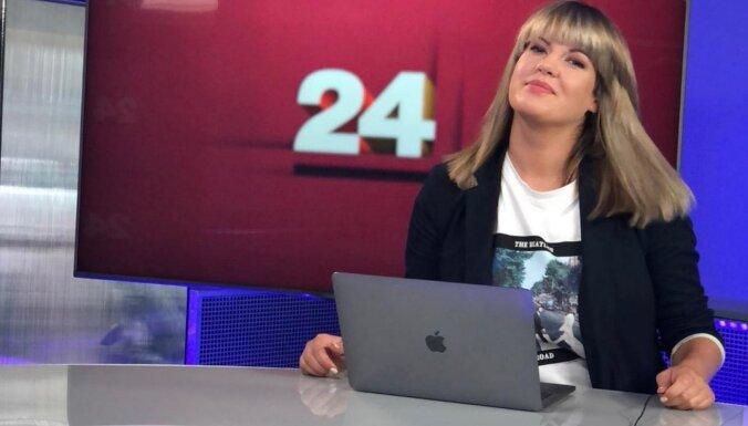 No darba 'RīgaTV 24' aiziet raidījumu vadītāja Ieva Strazdiņa