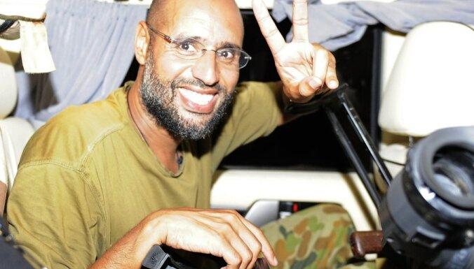 Сын Каддафи избежал смертной казни и вышел на свободу