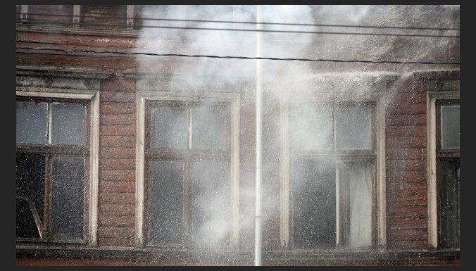 Два пожара в Риге: погибли четыре человека