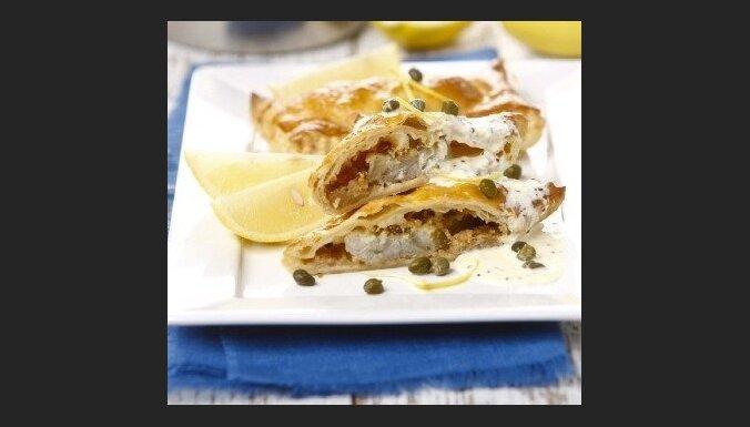 Жаркое из рыбы с сыром