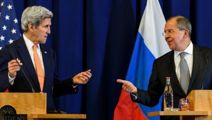 ASV un Krievija vienojas par Sīrijas pamiera plānu