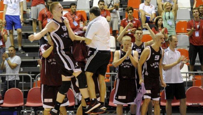 Сборная Латвии прервала серию из четырех неудач