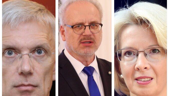Latvijas augstākās amatpersonas sveic Baidenu ar uzvaru ASV prezidenta vēlēšanās