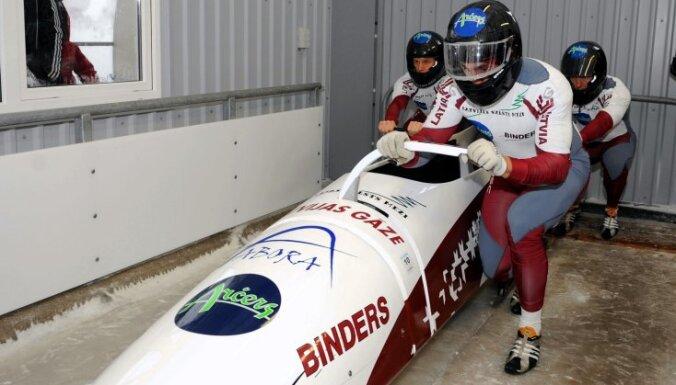 У экипажа Латвии — рекорд трассы на разгоне и 4-е место