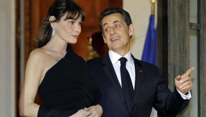 Карла Бруни и Николя Саркози нарекли дочь Джулией