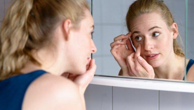 Pie vainas nav tikai bezmiegs jeb Seši iemesli, kāpēc rodas loki zem acīm