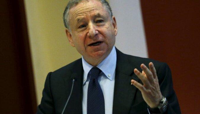 FIA prezidents Tods atzinīgi vērtē Latvijas paveikto satiksmes drošības uzlabošanā