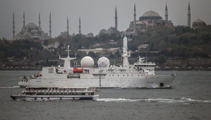 В Черное море прибыл французский корабль-разведчик