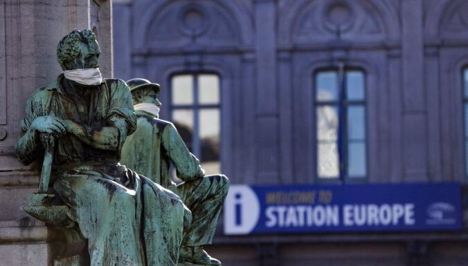 Eiropas līderi par Covid-19 ierobežošanu: 'Veiksme izvēlas sagatavotus prātus'